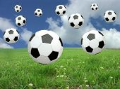 Soccer Ball Rain