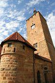 The White Tower In Nuremberg.