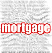 stock photo of amortization  - Mortgage image with hi - JPG