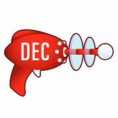 December on retro raygun
