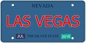Las Vegas Nevada License Plate