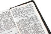 Bíblia aberta aos Hebreus