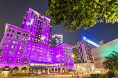HONG KONG - OCTOBER 15: Exterior of the Peninsula Hotel October 15, 2012 in Hong Kong, China. The ho