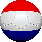 Russian Flag With Soccer Ball
