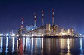 Power Plant by Night, New York City