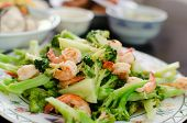 pic of thai cuisine  - Thai healthy food stir - JPG