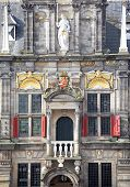 Town Hall In City Delft, Netherlands