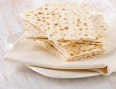 picture of matzah  - matzoh  - JPG