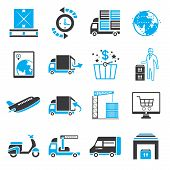 shipping service icons