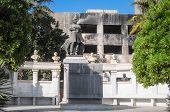 Auguste Mariette statue in Cairo