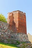 Corner Tower Of Sztum Castle (1335), Poland