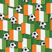 Ivory Coast Football Pattern