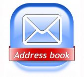address book icon contact us here for feedback icon or sign. Coordinates for customer support and extra information