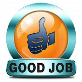 image of job well done  - good job work well done excellent accomplishment Well done congratulations with your success - JPG
