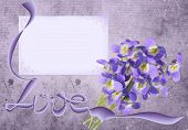 Lilac Violet Grunge