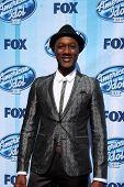 LOS ANGELES - MAY 21:  Aloe Blacc at the American Idol Season 13 Finale at Nokia Theater at LA Live
