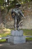 D'artagnan Monument In The Aldenhofpark