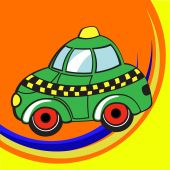picture of beetle car  - illustration of Transport Cartoon - JPG