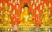 Shakyamuni, Ananda And Mahakasyapa