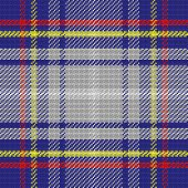 Vector Seamless Pattern Scottish Tartan, State Of Nevada