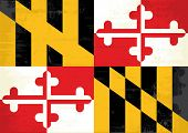 picture of maryland  - Maryland grunge flag - JPG