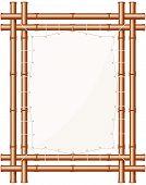 Framed Bamboo Banner