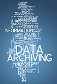 Word Cloud Data Archiving