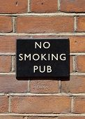 No Smoking Pub