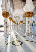Sheikh Zayed Mosque Abu Dhabi Corridor