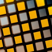 Yellow Purple Matrix
