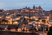 Toledo At Dusk, Spain
