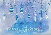 image of teardrop  - Christmas decoration - JPG