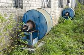 Old Agriculture Ventilation Motors For Air Conditioning