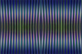 Blue And Green Striped Background