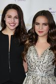LOS ANGELES - NOV 4:  Kaitlin Riley, Bailee Madison at the Hallmark Channel's