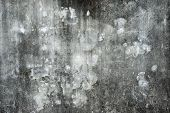 Old Mottled Concrete Wall For Background Texture