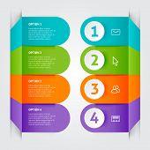 Minimal Colorful Infographics Elements