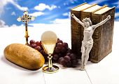 pic of eucharist  - Symbol christianity religion  - JPG