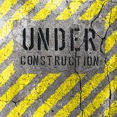 Under Construction Illustration. Vector