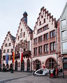 FRANKFURT, HESSE-July 11: Old Town of Frankfurt am Main.Frankfurt is the largest city in the German state of Hesse and the fifth-largest city in Germany,July 11,2014 in Frankfurt, Germany.