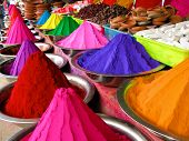 vibrant colored dyes