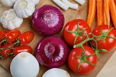 picture of scallion  - Red onion - JPG