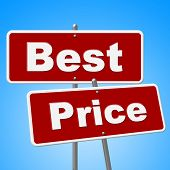 Best Price Signs Means Promotion Placard And Sales