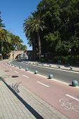 Famous Lane And Bridge In Kos City; Greece