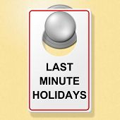 Last Minute Holidays Shows Place To Stay And Hotel