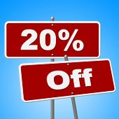 Twenty Percent Off Shows Promo Discounts And Merchandise