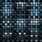stock photo of knitwear  - fabric texture or knitwear in blue white and black - JPG