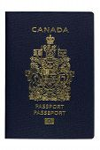 Isolated New Canadian ePassport