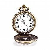 Locket Clock Isolated