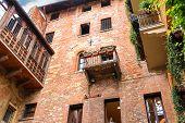 image of juliet  - Windows and balconies in the museum courtyard Juliet - JPG